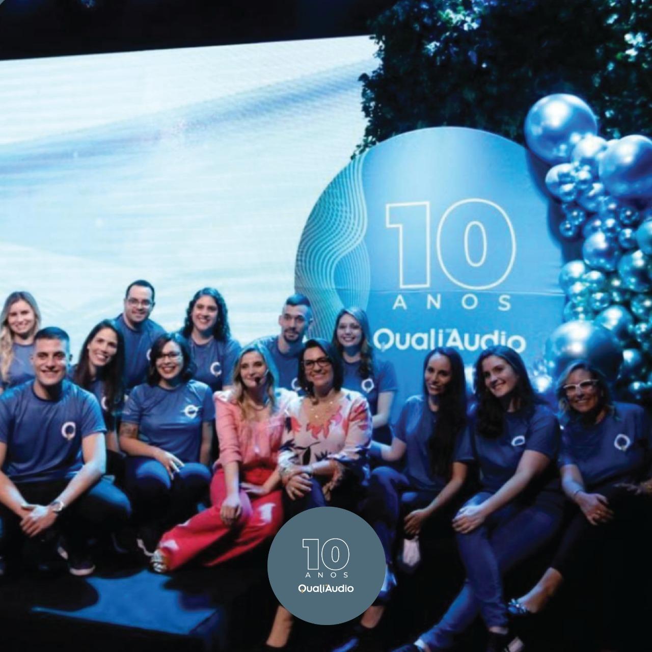 O evento de 10 anos da QualiAudio foi um sucesso!
